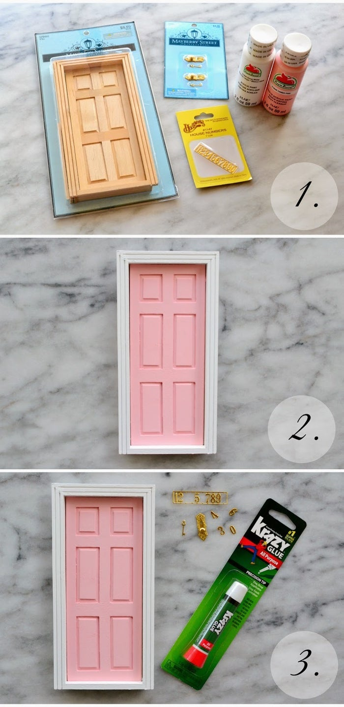 When your kid gets their first loose tooth you can put this up in their room so the tooth fairy has a way in. Find the DIY here.
