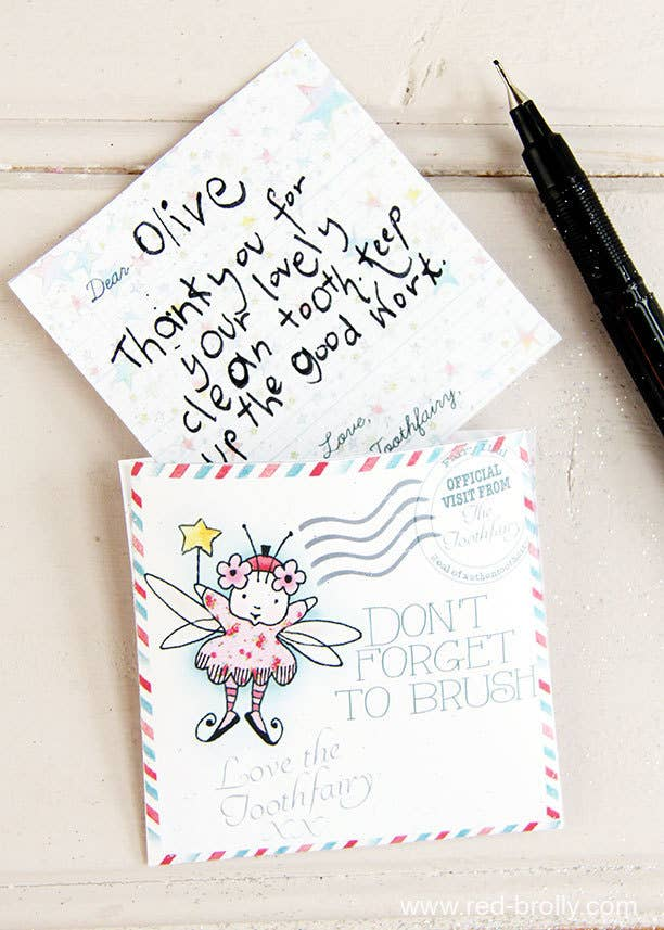 19 tooth fairy ideas that are borderline genius have the tooth fairy leave a fairy sized letter for your kid spiritdancerdesigns Images