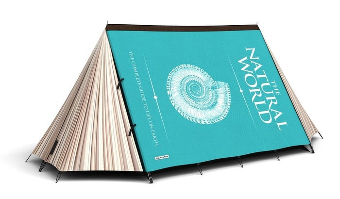 Find actual shelter in a great book. Your book lover may never want to leave this safe haven. Get one here.