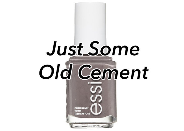 "Essie's ""Chinchilly"""
