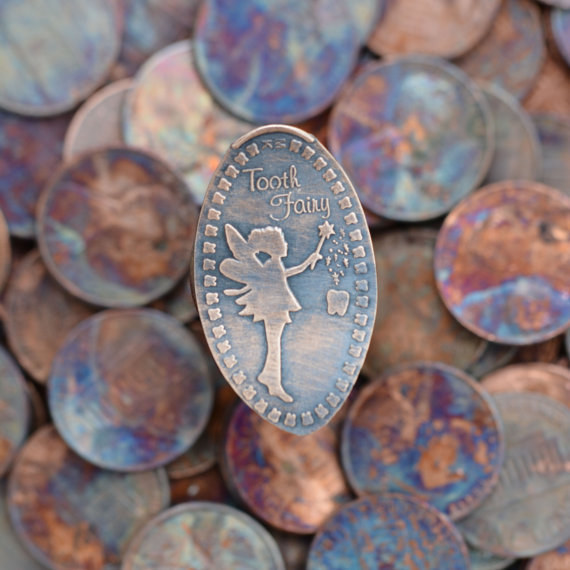 A tooth fairy pressed penny also makes an incredible surprise in the morning.