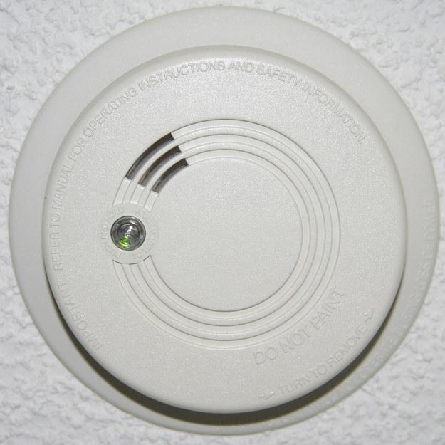Your smoke detector.