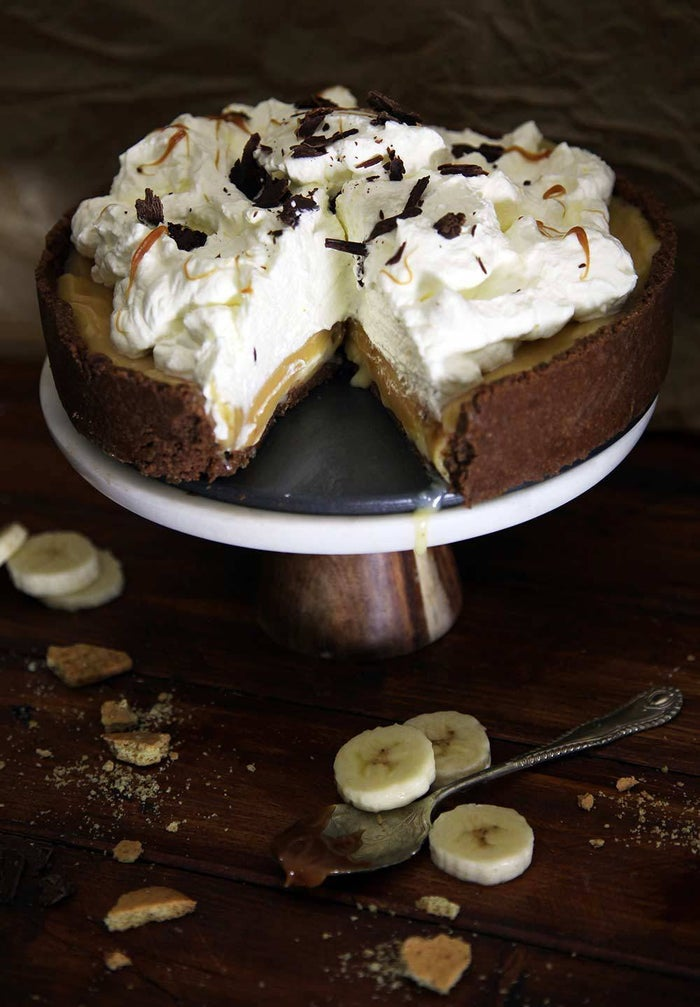 With a crumbly chocolate digestive crust. Here's the recipe.