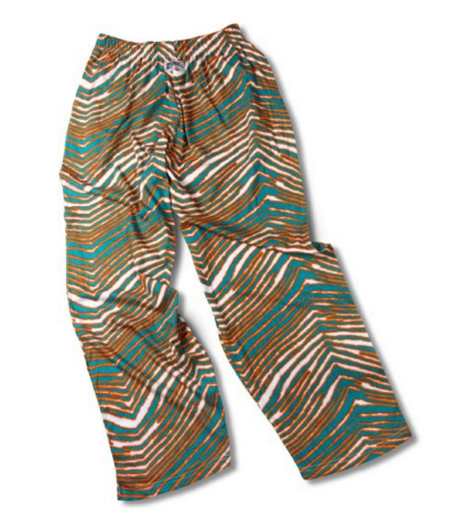 Zubaz pants were the '90s way to show your team loyalty while giving your ass and any other assorted bits lots of room to hang out and chill.