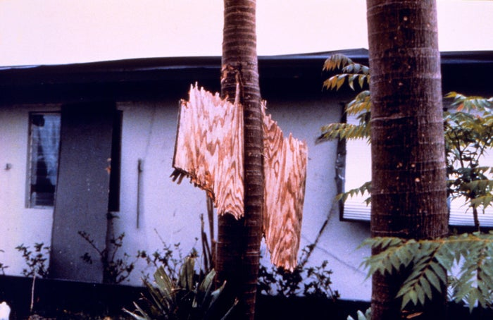 As if this 1992 hurricane itself wasn't scary enough on its own, parts of South Florida were (/are) reeling from the devastation decades later.