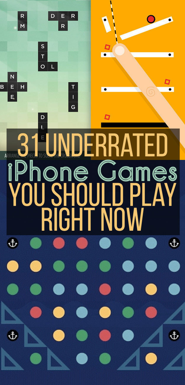 31 iPhone Games You Should Be Playing Already