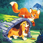 fox and the hound naked