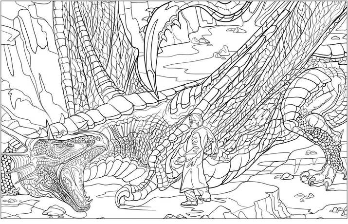 The Original Harry Potter Coloring Book Is Already Available Magical Places Characters And Postcards