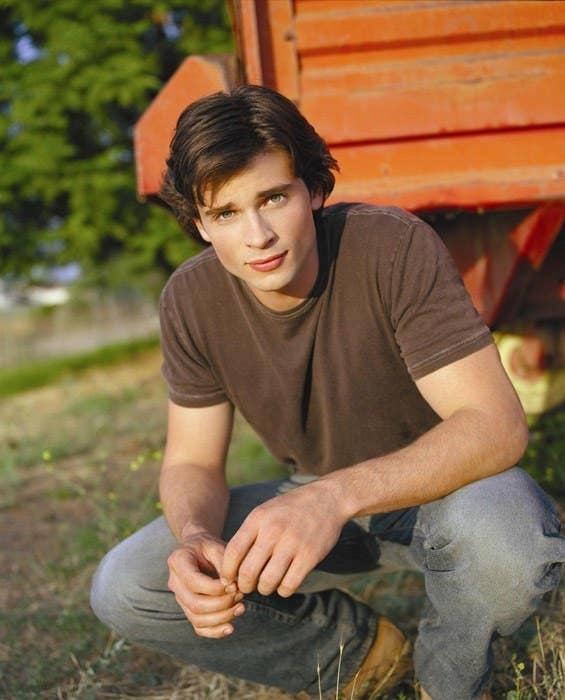 Welling in Smallville Season 1.