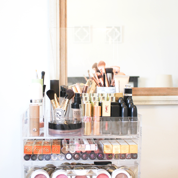 And when your makeup collection becomes so impressive, it warrants a display case.