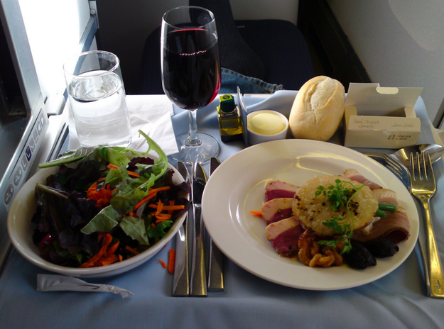 APPETIZER in first class: