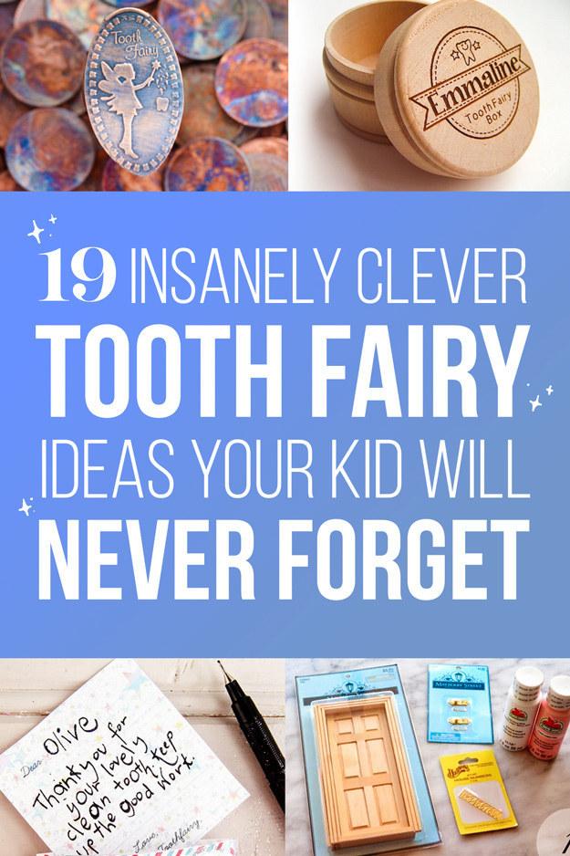graphic regarding Tooth Fairy Ideas Printable identified as 19 Enamel Fairy Tips That Are Borderline Genius