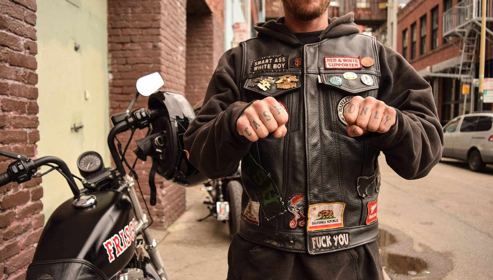 Want To Call It Frisco? Ask The Hells Angels