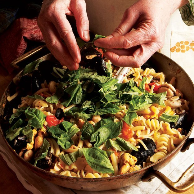 Pasta Mista with Beans and Mussels