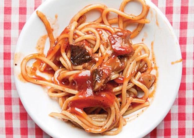 Barbecue Spaghetti