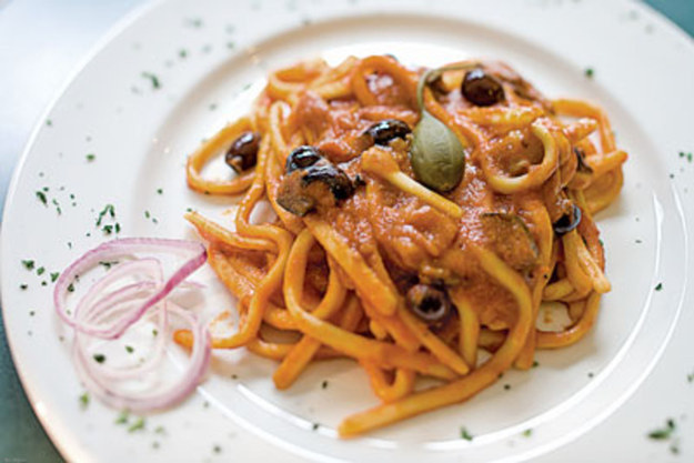 Pasta With Spicy Tomato–Beer Sauce