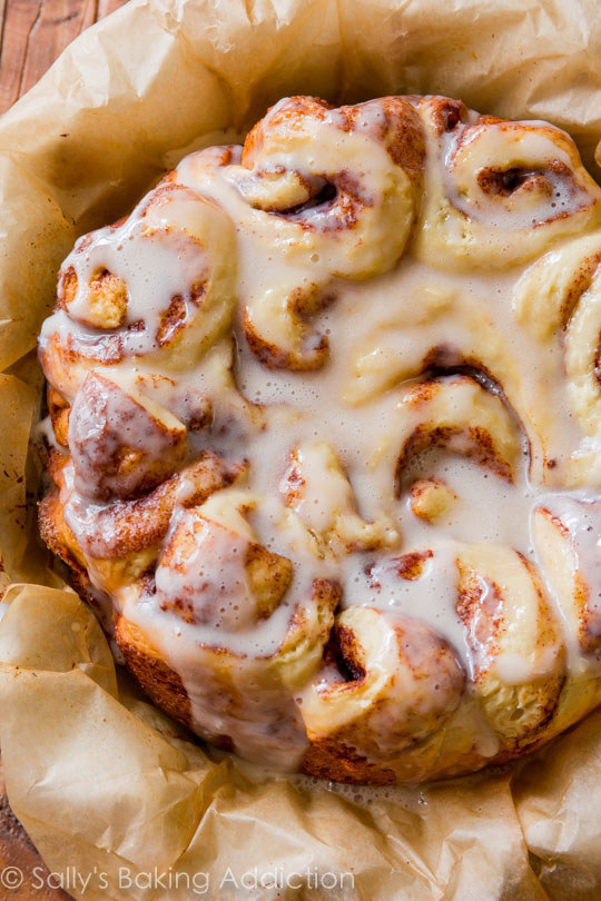 ALERT! Even these pillowy cinnamon rolls can be made in a slow cooker!