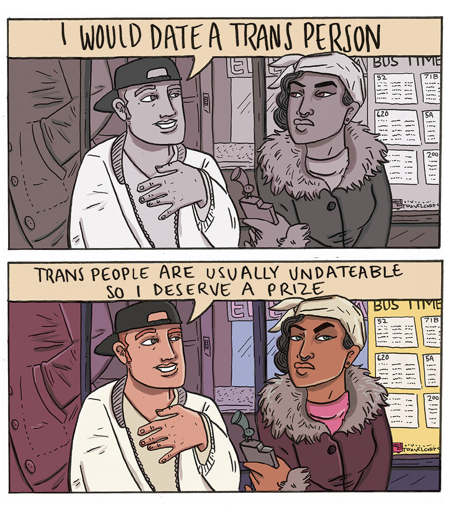 cis man dating trans man Transmen for women 2,656 likes 5 we aren't that different from cis men our trans experience does give many of a trans man's guide to dating straight.