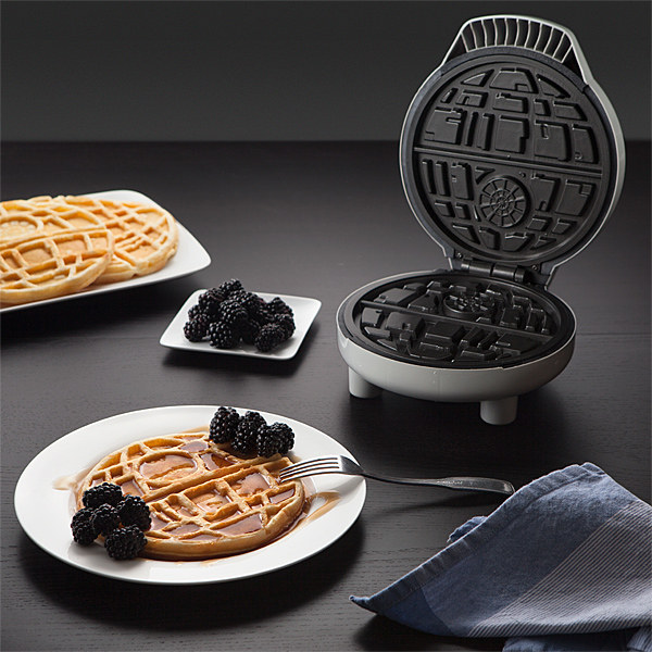 This Death Star waffle iron.