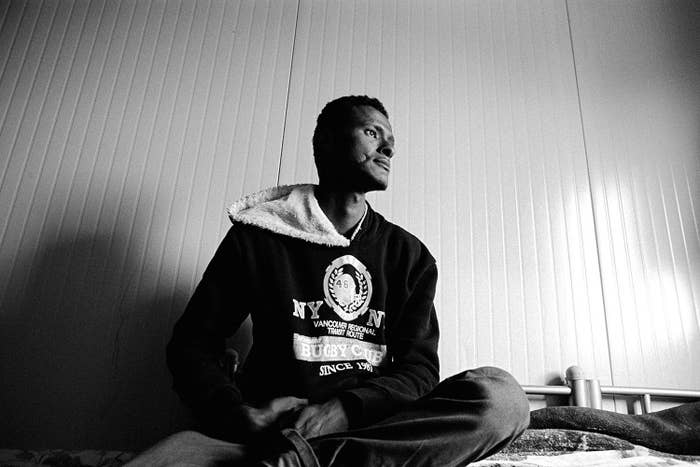 This stateless man is originally from Somalia. He arrived in Malta by boat. Somalia rejects his as a citizen of the country and Malta has rejected his claims for asylum. Now he and his family are stranded in Malta.