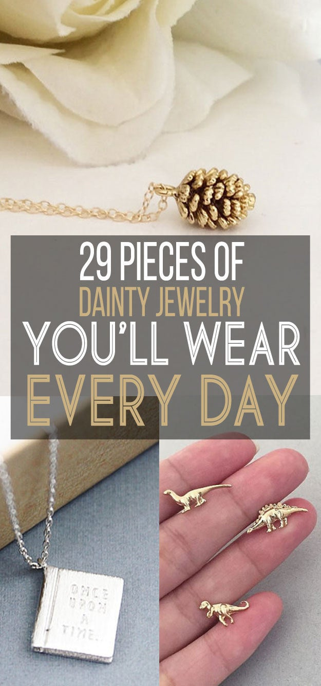 29 Delicate Pieces Of Jewelry You Ll Never Take Off