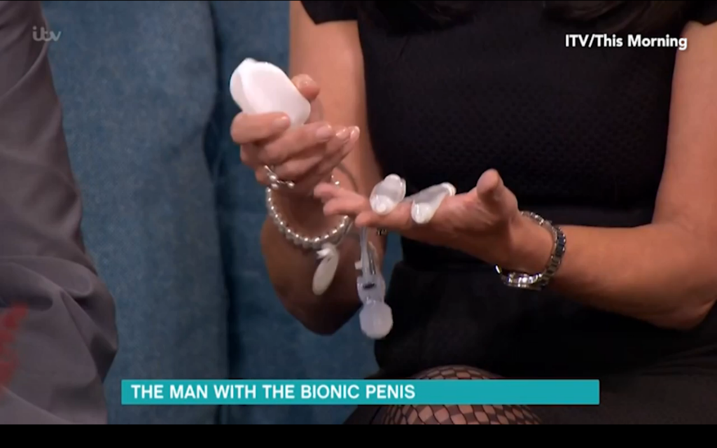 Man Fitted With Bionic Penis Will Lose His Virginity To An -1472