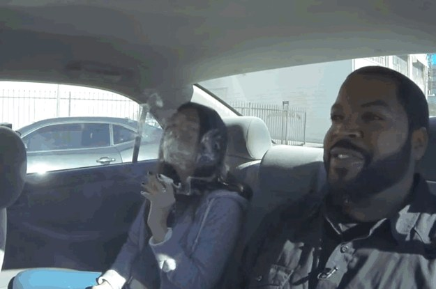 Ice Cube Kevin Hart And Conan Might Be The Worst Driving