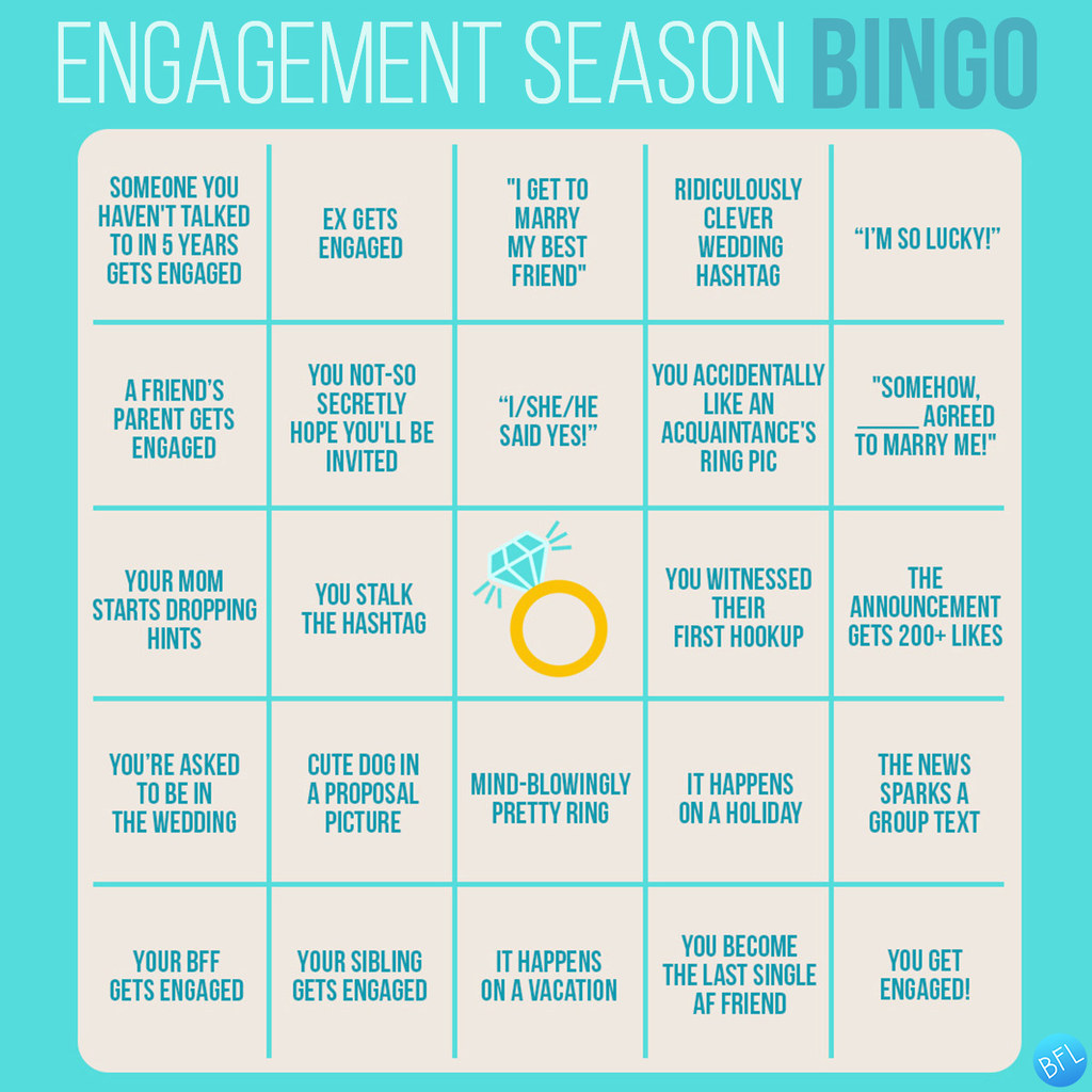 This Is The Ultimate Engagement Season Drinking Game