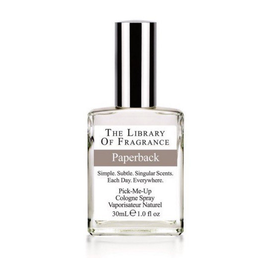 Book-Scented Perfume