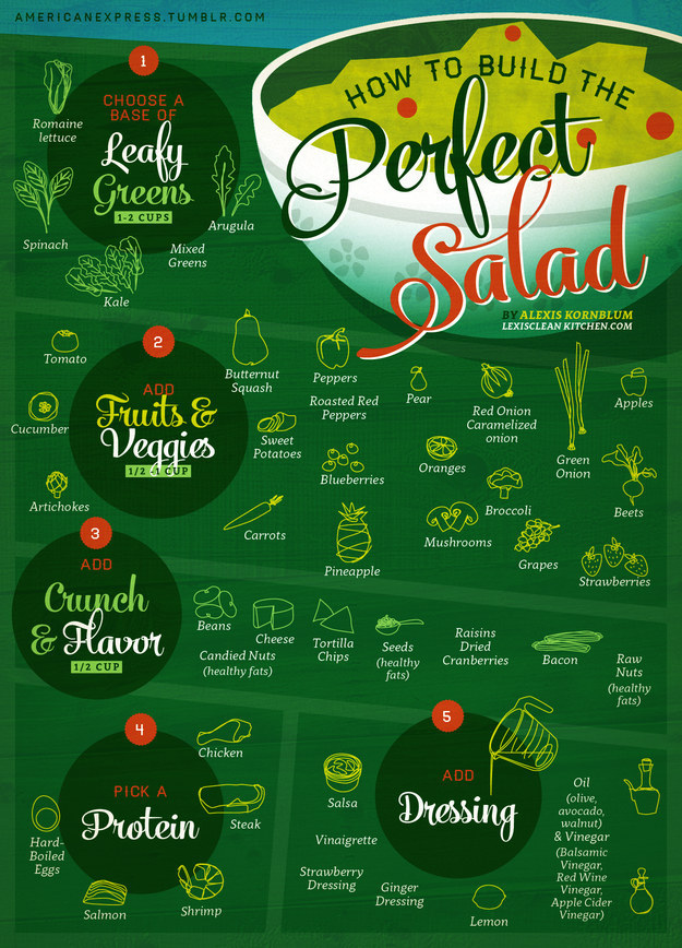 For satisfying and delicious salads that won't leave you hungry.