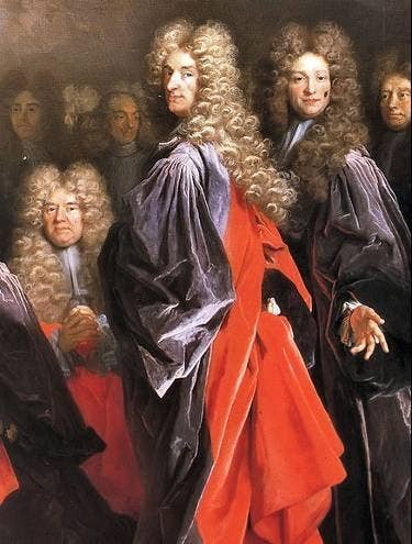 As perucas davam um show na cabeça dos homens das antigas, principalmente em países da Europa há alguns séculos. Mas hoje e dia ninguém mais respeita tradições.