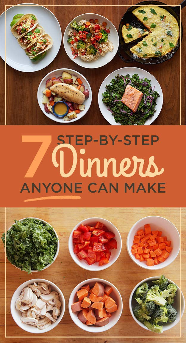 These beginner dinners will teach you how to cook share on facebook share forumfinder Choice Image