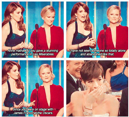 15 Times Tina Fey And Amy Poehler Ruled The Golden Globes