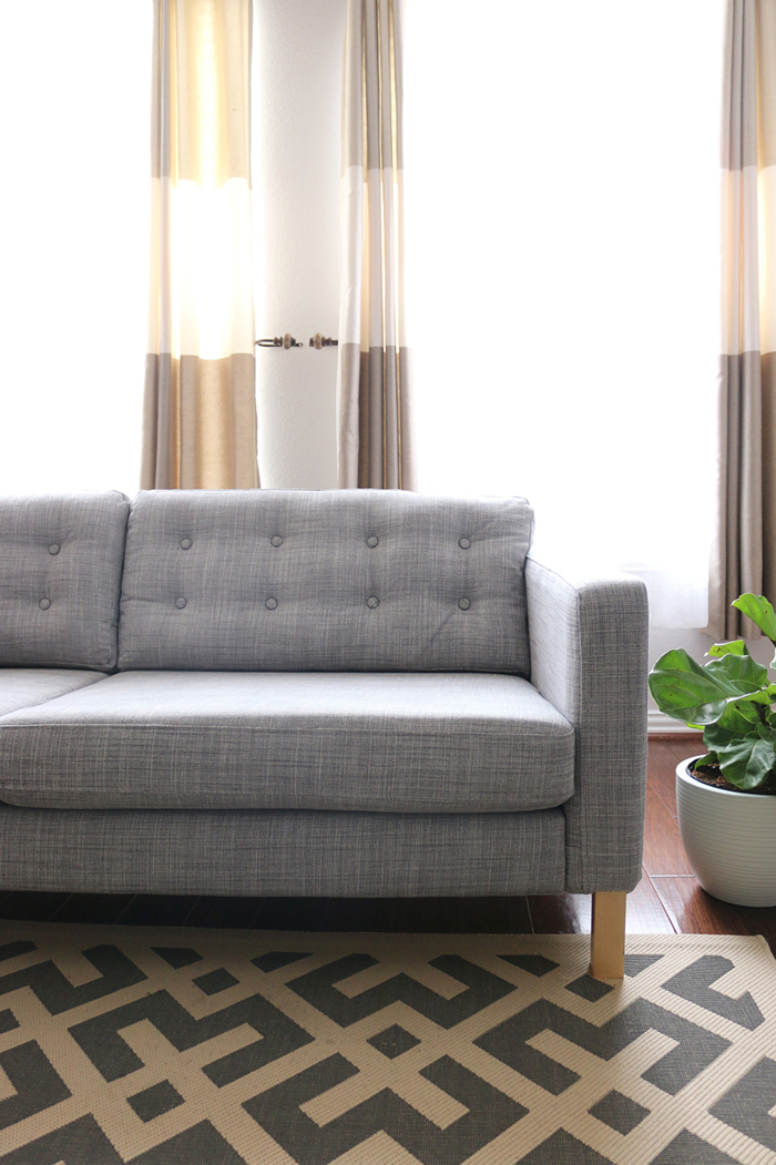 Get The Instructions Here. The Blogger Sells Buttons That Match The Ikea  Sofa She Owns