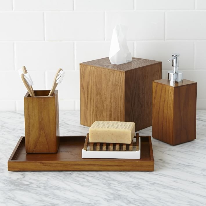 this wood vanity tray that is currently on sale for