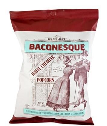 Baconesque White Cheddar Popcorn