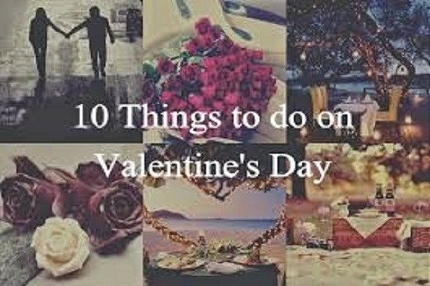 10 different things to do on valentine's day, Ideas