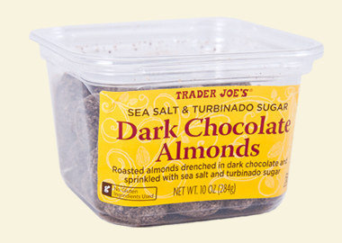 Sea Salt & Turbinado Sugar Dark Chocolate Almonds