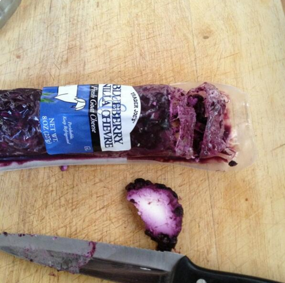 Blueberry Vanilla Chevre