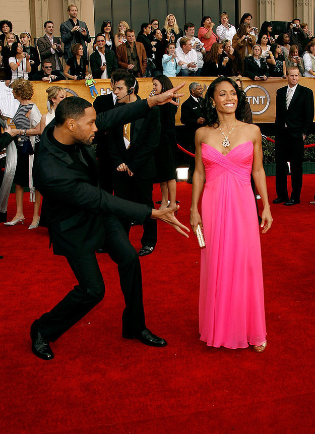 When Will Smith pretty much presented Jada at the SAG Awards, and meanwhile you can't get your grandma to lay off your love life already.