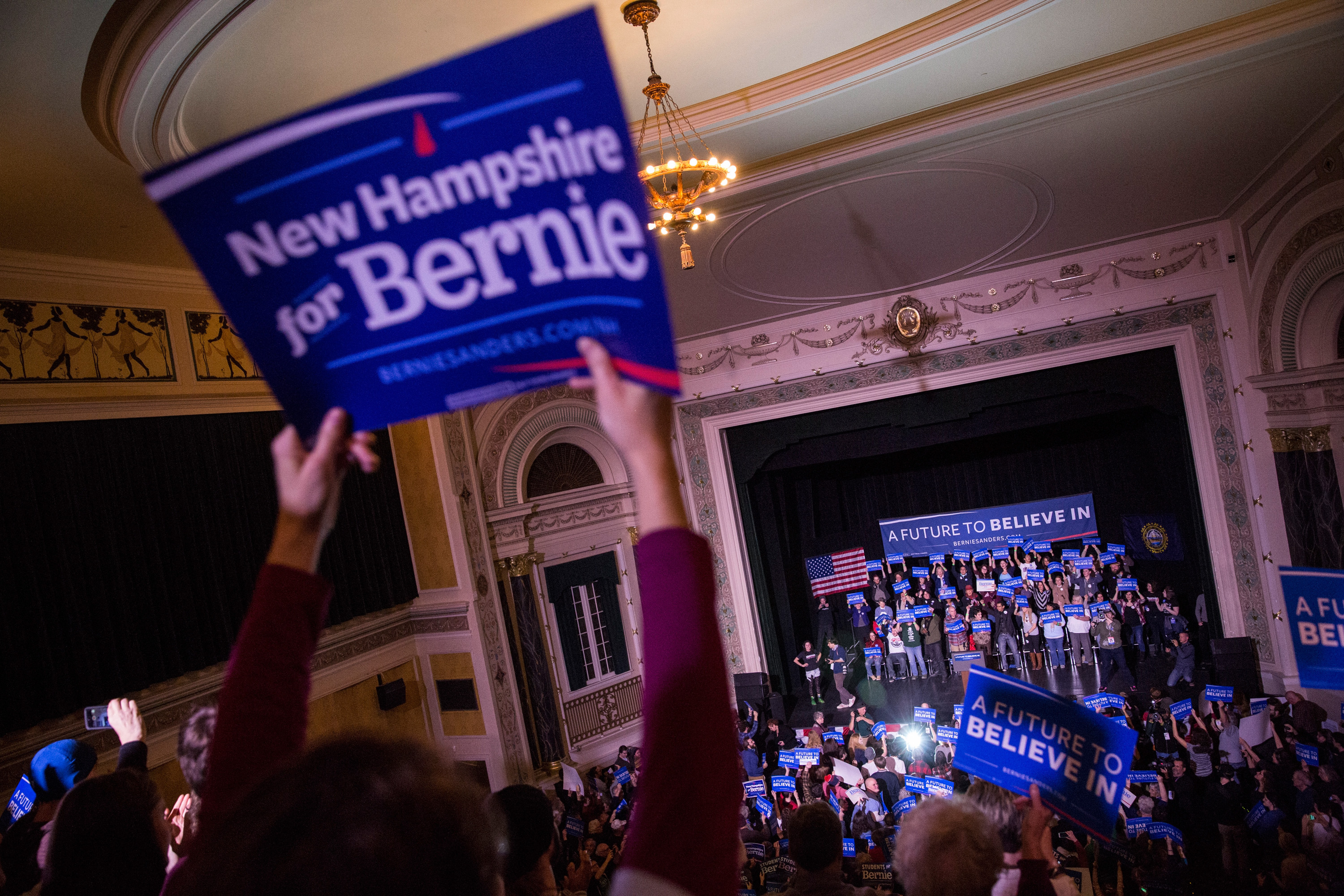 Bernie Sanders Has Raised $5.2 Million Since The Polls Closed In New Hampshire