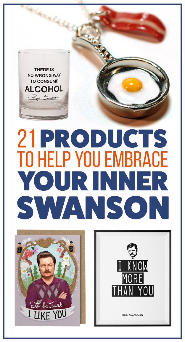 21 Products That Will Help You Embrace Your Inner Ron Swanson