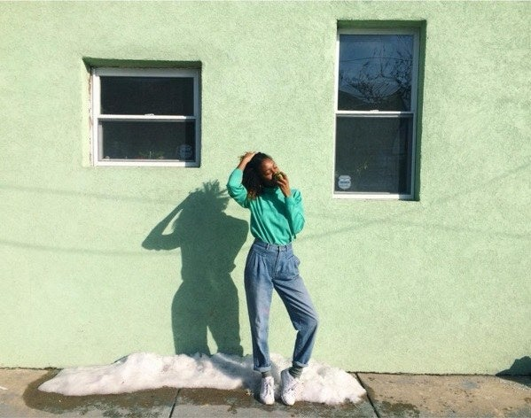 She is a Washington DC native, an artist, and a girl power enthusiast.