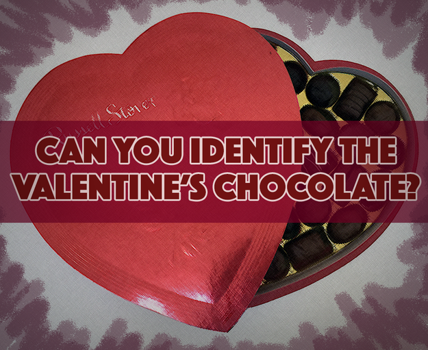 Can You Identify The Valentine's Chocolates (Without Tasting Them)?