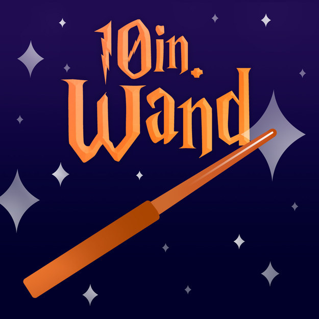 10-INCH WAND matches you based on your Hogwarts house.