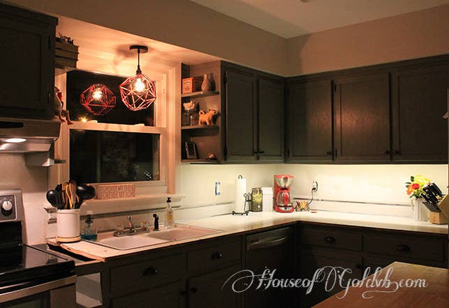 Then Install Plug In Under Cabinet Lighting To Illuminate Your Fancy New Kitchen