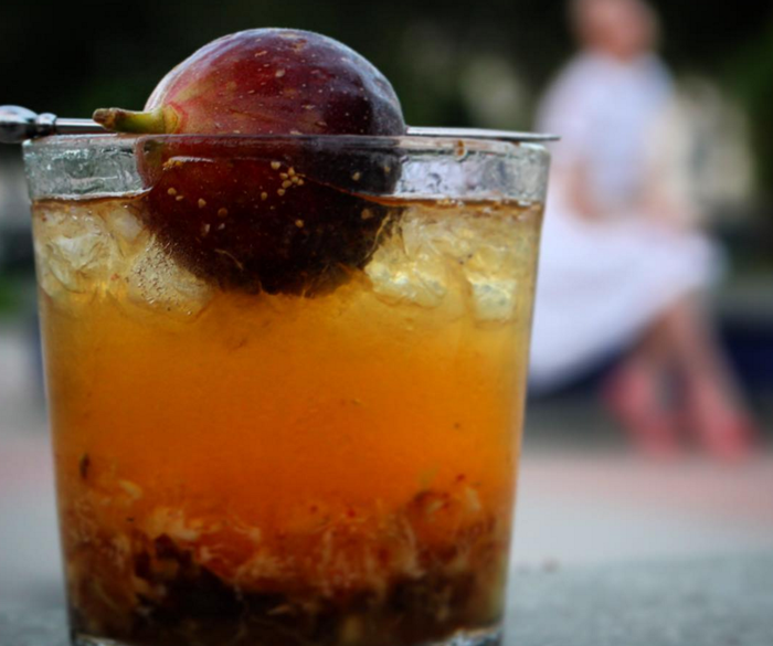 A fig-flavored cocktail for when you JUST DON'T GIVE A FIG. *high five*Get the recipe here.