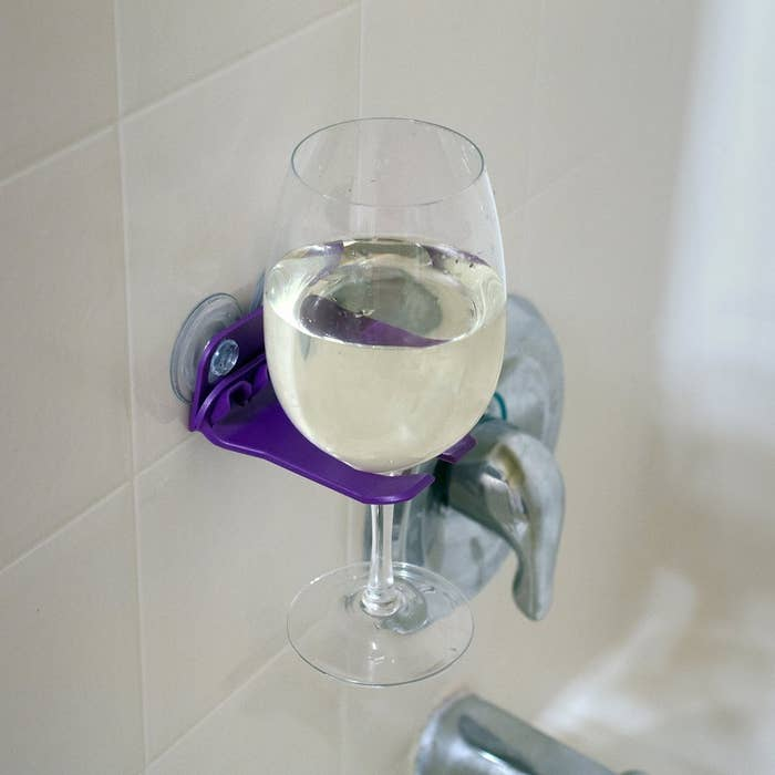 Keep your wine within reach at all times. Price: $12.50Get it here.