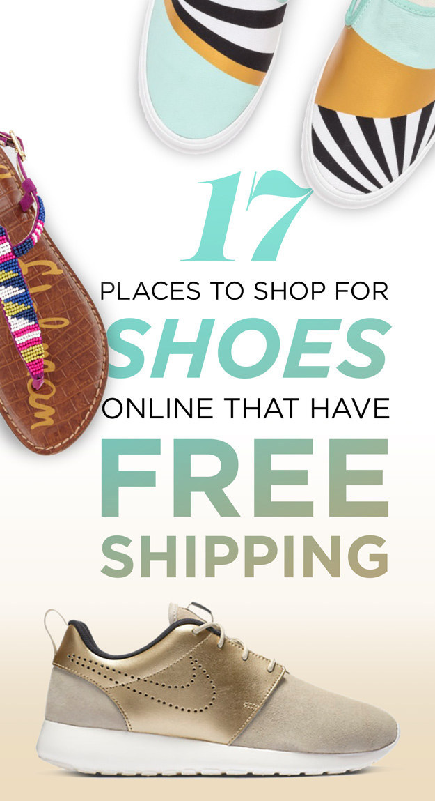 17 Places To Order Shoes That Have Free Shipping