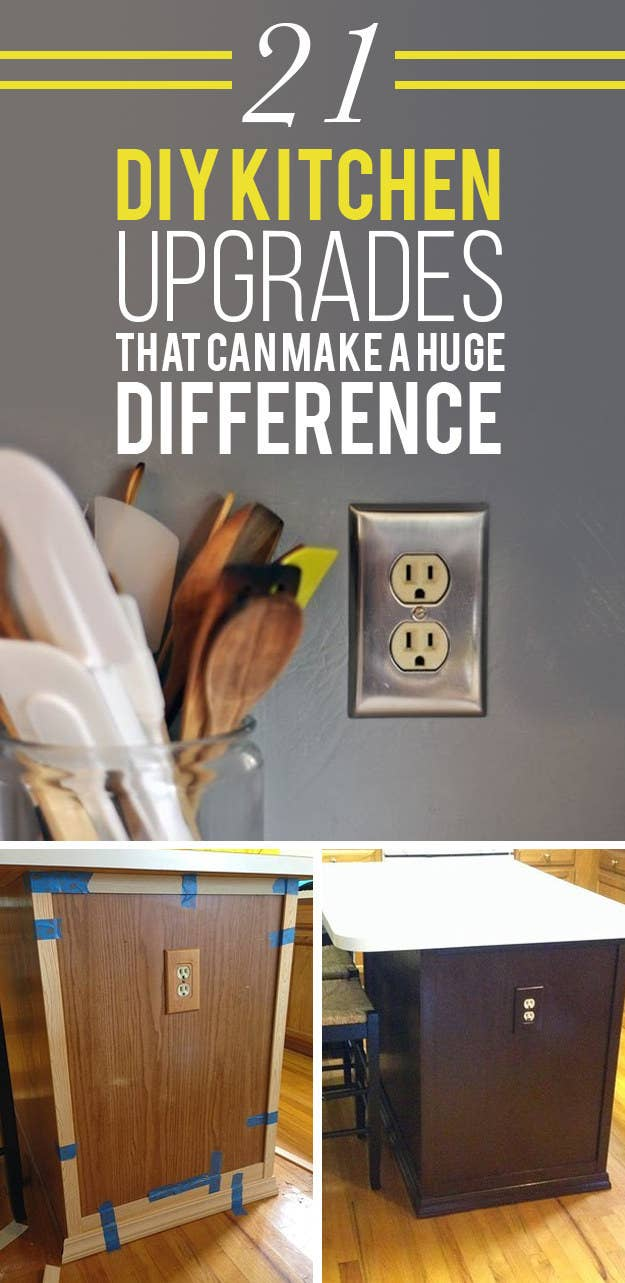Kitchen Upgrades 21 Kitchen Upgrades That You Can Actually Do Yourself
